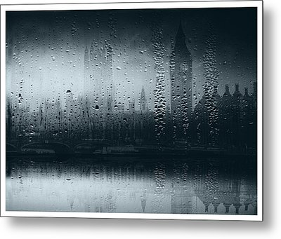 Metal Print featuring the digital art Mystical London by Fine Art By Andrew David