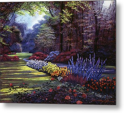 Memories Of Beacon Hill Park Metal Print by David Lloyd Glover
