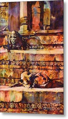 Memories Of Happier Times- Nepal Metal Print