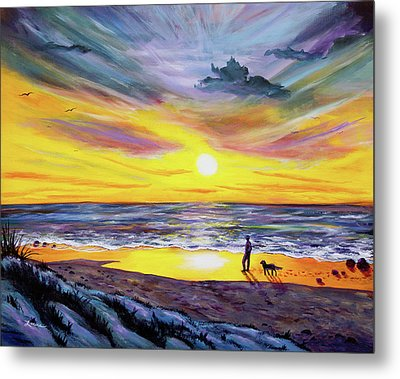 Memories Of My Father Metal Print by Laura Iverson