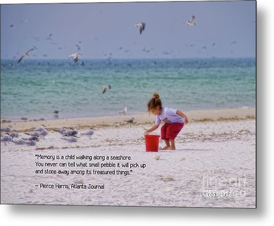 Metal Print featuring the photograph Memory by Peggy Hughes