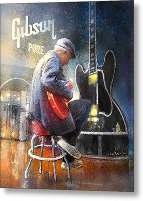 Memphis Nights 05 Metal Print
