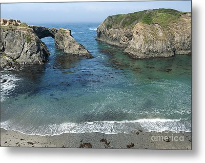Mendicino County Viewpoint Metal Print by Sandra Bronstein