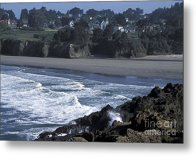Metal Print featuring the photograph Mendocino  by Stan and Anne Foster