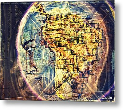 Mental Construction Metal Print