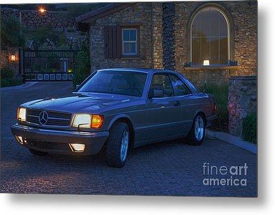 Mercedes 560sec Metal Print