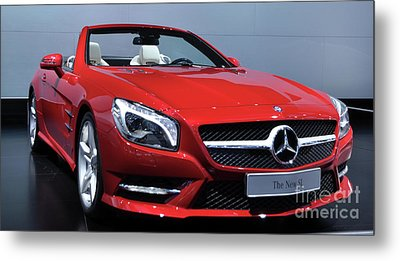 Mercedes Benz Sl Metal Print