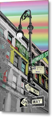 Mercer St Metal Print by Christopher Woods