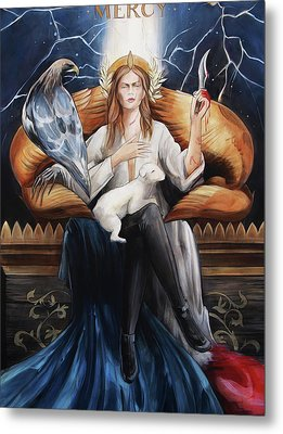 Mercy Metal Print by Jacque Hudson