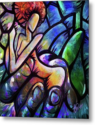 Metal Print featuring the digital art Mercy's Hand by AC Williams