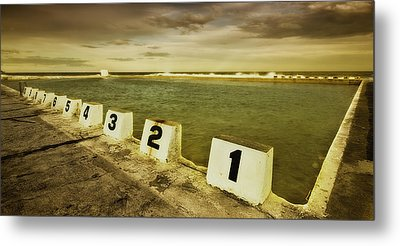 Merewether Ocean Baths Metal Print