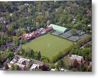 Merion Cricket Club Cricket Festival Metal Print by Duncan Pearson