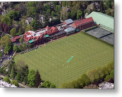 Merion Cricket Club Picf Metal Print by Duncan Pearson