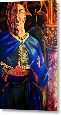Merlin Metal Print by David Matthews