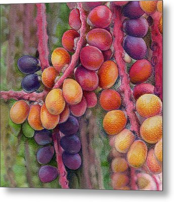 Merry Berries Metal Print by Mindy Lighthipe
