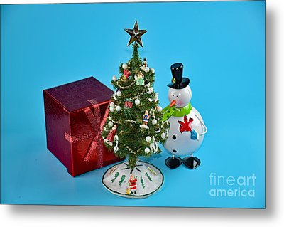 Merry Christmas To You Metal Print by Ray Shrewsberry