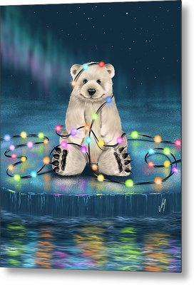 Merry Christmas  Metal Print by Veronica Minozzi