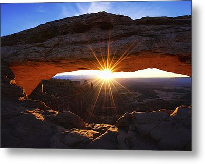 Mesa Sunrise Metal Print by Chad Dutson