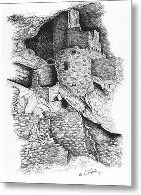 Mesa Verde Metal Print by Lawrence Tripoli