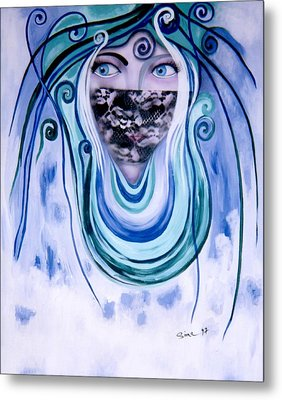 Message Metal Print by Sima Amid Wewetzer