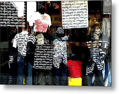Messed Up Fashion Metal Print by Jez C Self