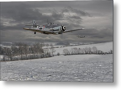 Messerschmitt Bf 109 G - Gustav Metal Print by Pat Speirs