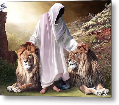 Messiah Israel And Judah Metal Print by Bill Stephens
