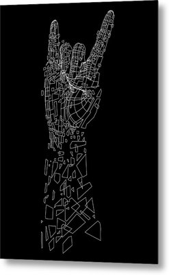 Metal Metal Print by Andreas  Leonidou