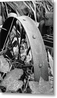 Metal Wheel Metal Print