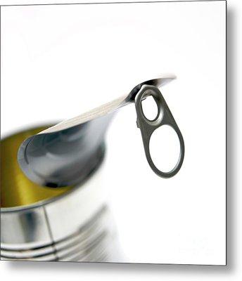 Metallic Can Metal Print by Bernard Jaubert