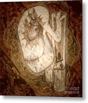 Metallic Ganix Metal Print