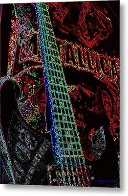 Metallica Metal Print