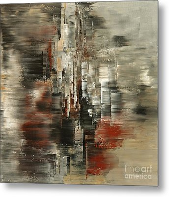 Metals And Magnetism Metal Print