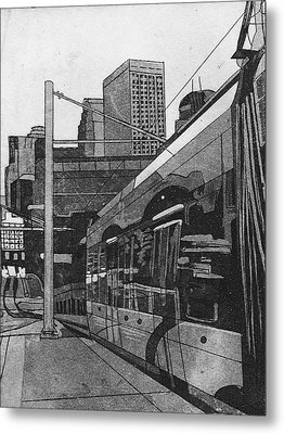 Metro Metal Print by Jude Labuszewski