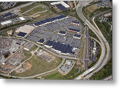 Metroplex Shopping Center Chemical Road Plymouth Meeting Pennsylvania Metal Print by Duncan Pearson