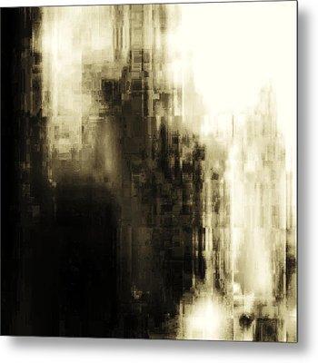 Metropolis Metal Print by Geoff Simmonds