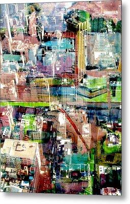 Metropolis II Metal Print by David Studwell