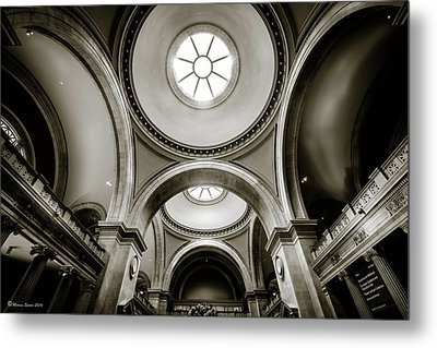 Metropolitan Museum Of New York Metal Print by Marvin Spates