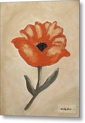 Mexican Flower Metal Print