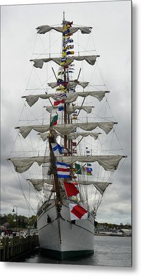 Mexican Navy Ship Metal Print