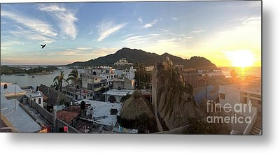 Metal Print featuring the photograph Mexico Memories 3 by Victor K