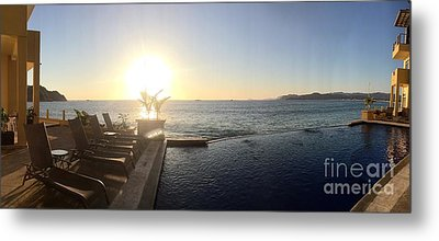 Metal Print featuring the photograph Mexico Memories 6 by Victor K