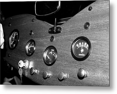Mg Gauges Metal Print by Gina  Zhidov