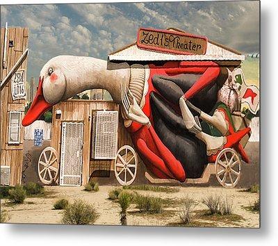Metal Print featuring the digital art Miami Graffiti by Jeff Burgess