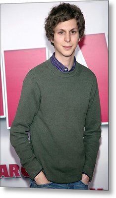 Michael Cera At Arrivals For Year One Metal Print by Everett