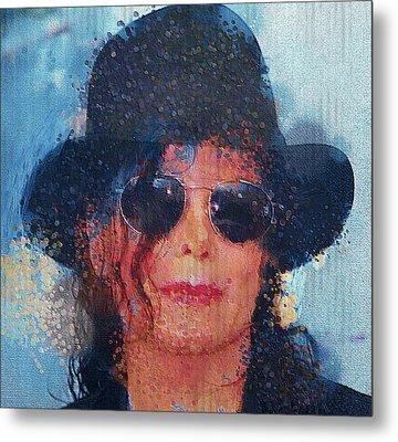 Michael Jackson 011 Metal Print