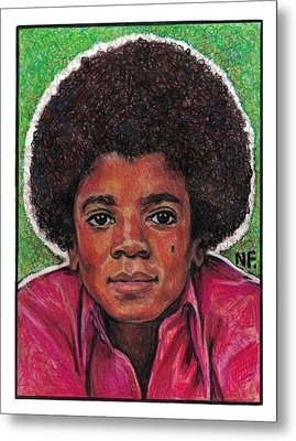 Michael Jackson Metal Print by Neil Feigeles