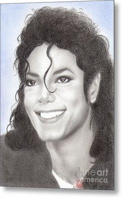 Michael Jackson #nineteen Metal Print