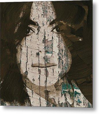Michael Jackson On Board Metal Print