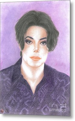 Michael Jackson - You Are Not Alone Metal Print